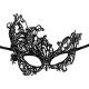 masque noir asymétrique