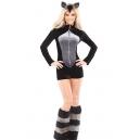 Costume raton laveur animaux