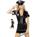 Costume la policière avec 5 accessoires
