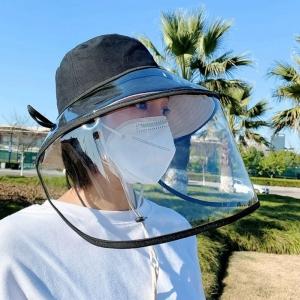 Visière de protection pour le visage anti postillon