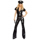 Costume la policière avec accessoires
