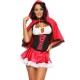 Costume petit chaperon rouge taille M à 2XL