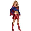 Costume superman avec jambières et culotte  incluses