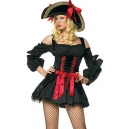 Costume pirate noir