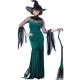 Costume sorcière verte