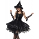 Costume sorcière glamour