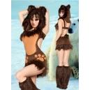 Costume petit ours brun