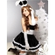 Costume lapin bunny noir