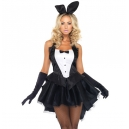 Costume lapin bunny playboy queue de pie