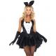 Costume lapin bunny playboy queue de pie