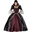 Costume vampire dracula robe de bal