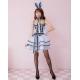 Costume lapin bunny bleu