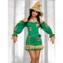 Costume l'épouventail du magicien d'oz