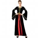 Costume Robe médiévale verte