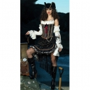 Costume pirate glamour