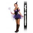 Costume la fée des bois violette