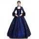 Costume Dame de la cour renaissance bleu