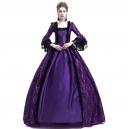 Costume Dame de la cour renaissance bordeau