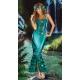 Costume la sirène verte