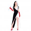 Costume Cruella  cruella 101 dalmatiens