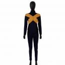 Costume combinaison X-men verte et jaune