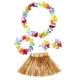 Costume ensemble hawai mulitcolore pour enfant
