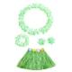 Costume ensemble hawai vert pour enfant
