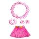 Costume ensemble hawai rose pour enfant