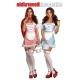 Costume réversible petit chaperon rouge / Dorothy