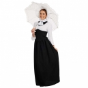 Costume tenue de baignade Victorienne