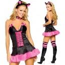 Costume déguisement catwoman chat