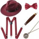 Ensemble accessoires pour homme année 20 Gasby le magnifique