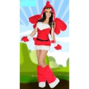Costume angry bird rouge