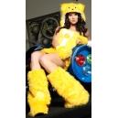Costume bisounours jaune