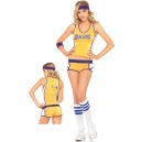Déguisment joueuse baskette Lakers