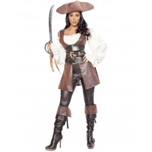 Costume pirate capitaine de luxe