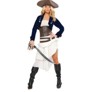 Costume pirate des caraïbes