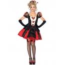 Costume dame de coeur deluxe