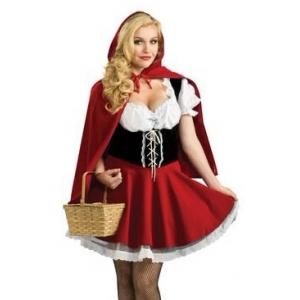 Costume petit chaperon rouge taille S à 2XL