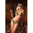 Costume armée militaire sexy