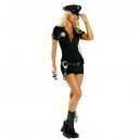 Costume la policière avec képi