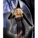 Costume sorciere sequin