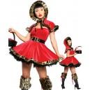 Costume déguisement petit chaperon rouge