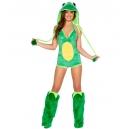 Costume grenouille verte