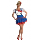 Costume Hello Kitty bleu