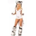 Costume huskies fourrure