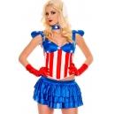 Costume Miss amerique