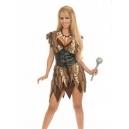 Costume femme préhistorique
