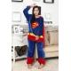 Déguisement combinaison mascotte superman
