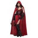 Costume petit chaperon rouge avec robe et cape longue